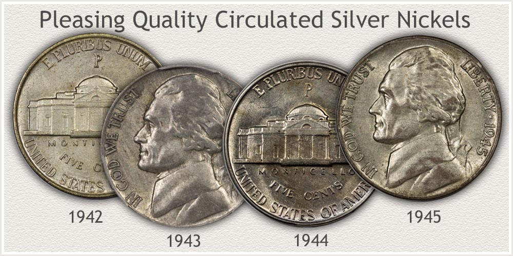 Silver Jefferson Nickel Collector Quality