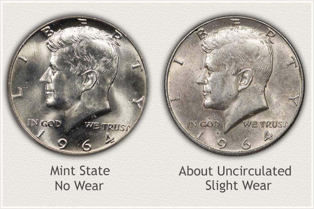 Silver Kennedy Half Dollar Grading