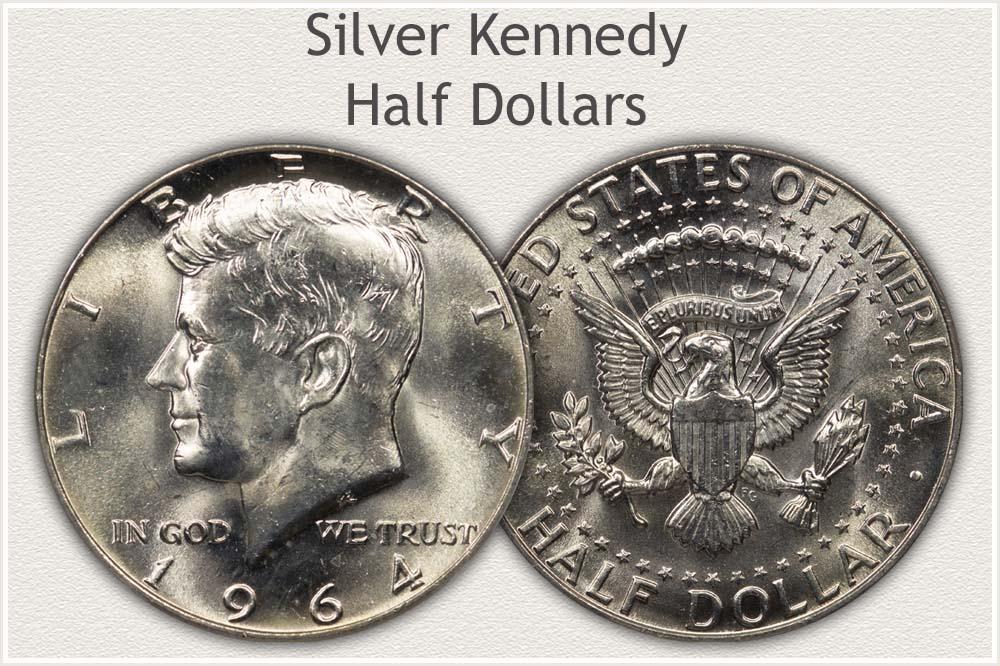 Uncirculated Silver Kennedy Half Dollar