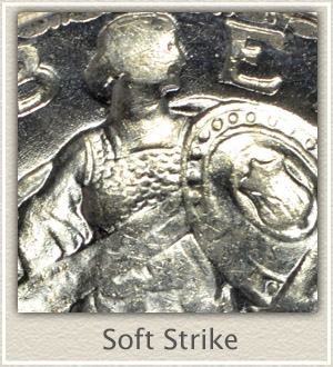 Soft Strike Standing Liberty Quarter