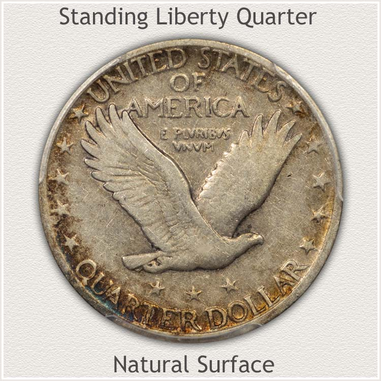 Eye Appealing Reverse of Standing Liberty Quarter