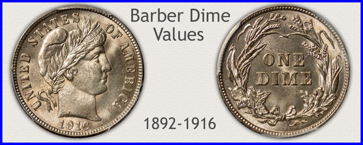 Go to...  Barber Dime Value