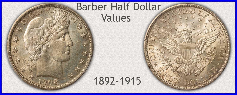 Go to...  Barber Half Dollar Value