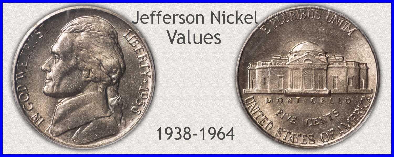 Go to...  Jefferson Nickel Values