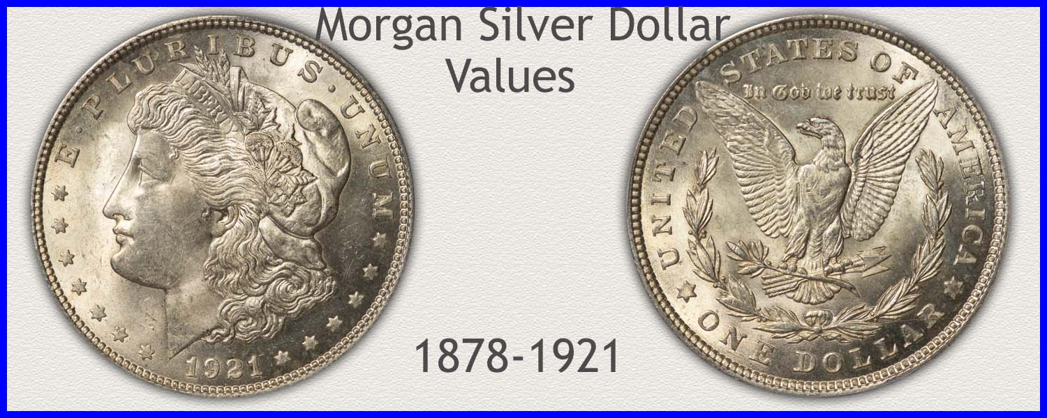 Go to...  Morgan Silver Dollar Values
