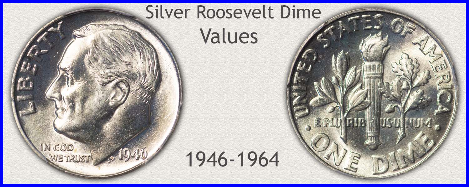 Go to...  Roosevelt Dime Values