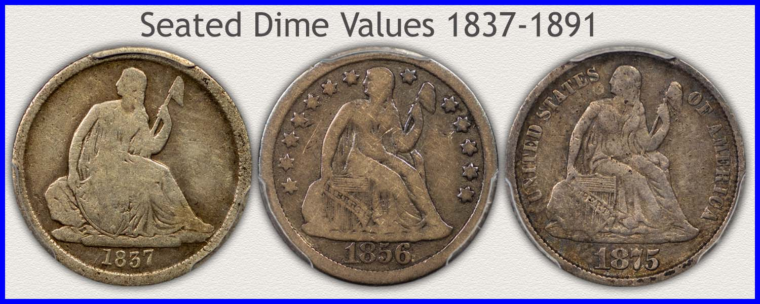 Go to...  Seated Dimes Value