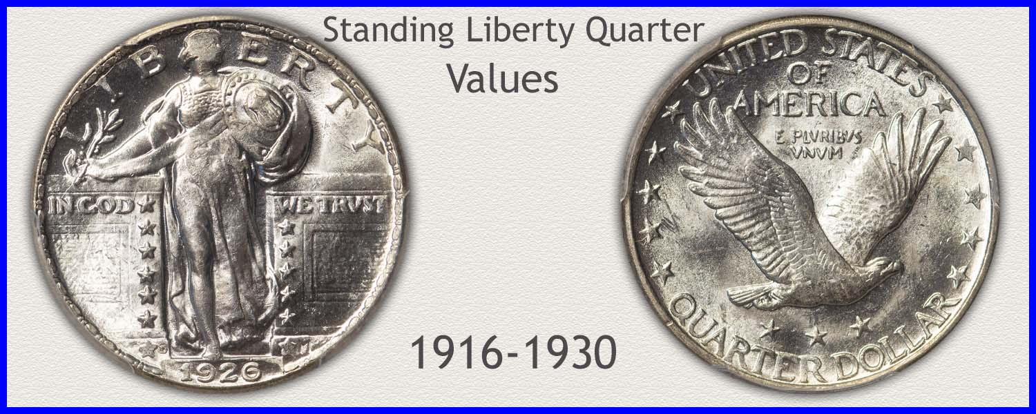 Go to...  Standing Liberty Quarter Values