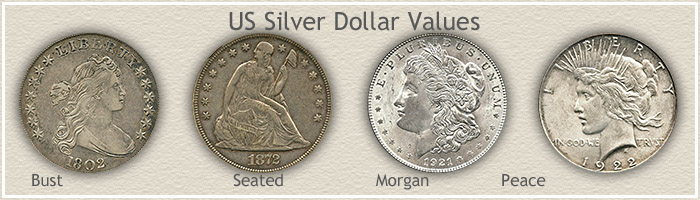 Visit... US Silver Dollar Values
