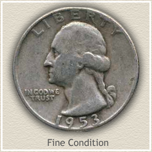 Washington Quarter Fine Condition