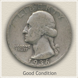 Washington Quarter Good Condition