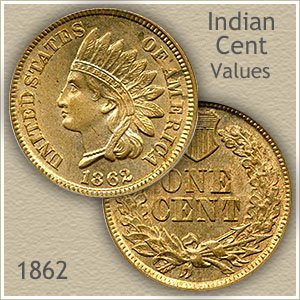 Uncirculated 1862 Indian Head Penny