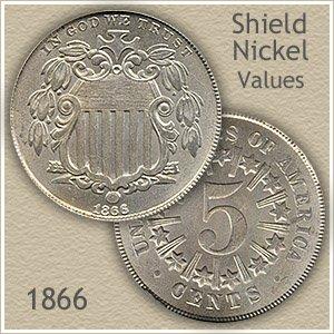 Uncirculated 1866 Nickel Value