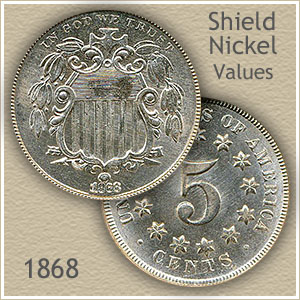 Uncirculated 1868 Nickel Value