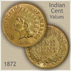Uncirculated 1872 Indian Head Penny
