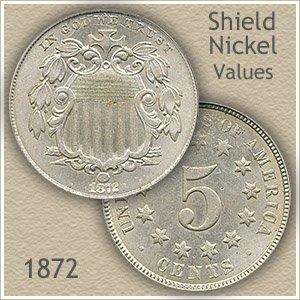 Uncirculated 1872 Nickel Value