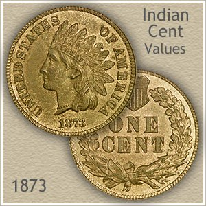 Uncirculated 1873 Indian Head Penny