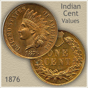 Uncirculated 1876 Indian Head Penny