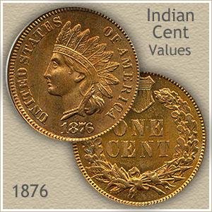 Uncirculated 1876 Indian Head Penny