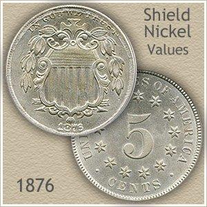 Uncirculated 1876 Nickel Value