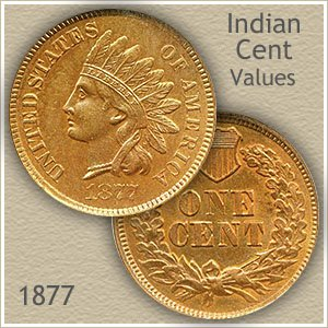 Uncirculated 1877 Indian Head Penny