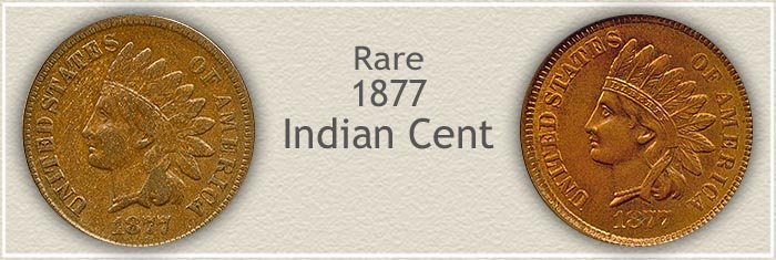 Valuable 1877 Indian Pennies
