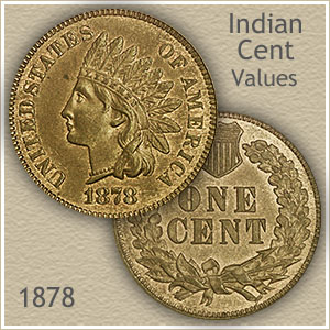 Uncirculated 1878 Indian Head Penny