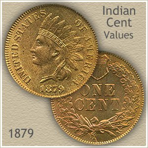 Uncirculated 1879 Indian Head Penny