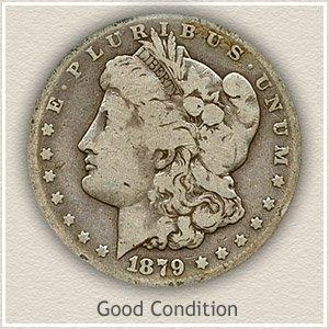1879 Morgan Silver Dollar Good Condition