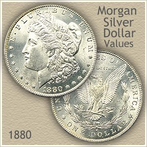 Uncirculated 1880 Morgan Silver Dollar Value