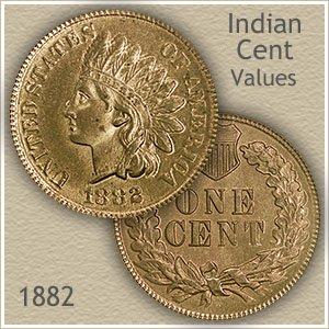 Uncirculated 1882 Indian Head Penny