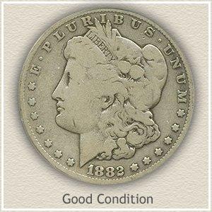 1882 Morgan Silver Dollar Good Condition