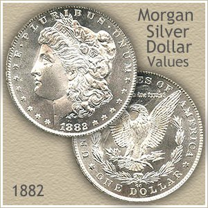 Uncirculated 1882 Morgan Silver Dollar Value