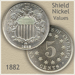 Uncirculated 1882 Nickel Value