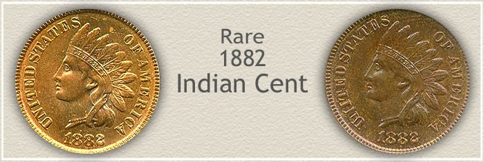 Value Range of 1882 Pennies