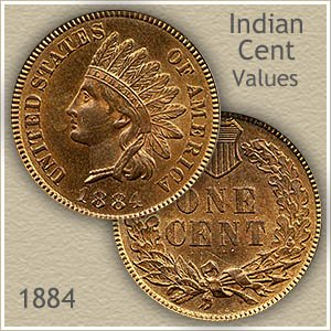 Uncirculated 1884 Indian Head Penny