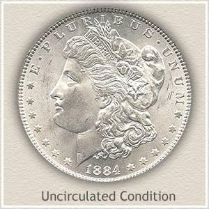 1884 Morgan Silver Dollar Value   Discover Their Worth