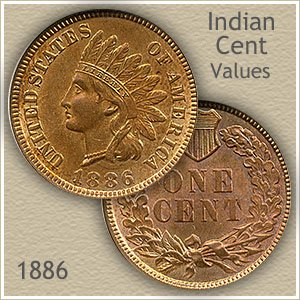 Uncirculated 1886 Indian Head Penny
