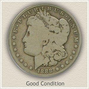 1888 Morgan Silver Dollar Good Condition