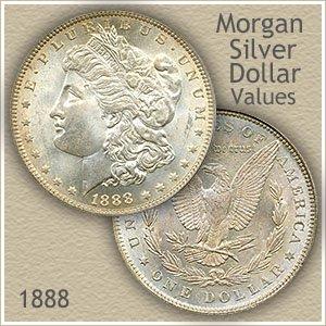 Uncirculated 1888 Morgan Silver Dollar Value