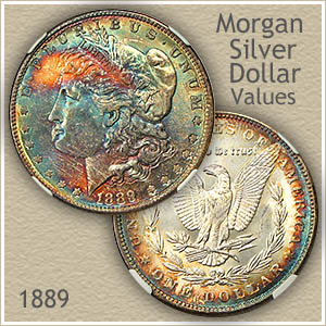 Uncirculated 1889 Morgan Silver Dollar Value