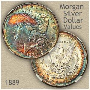Uncirculated 1889 Morgan Silver Dollar Value