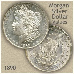 1890 Morgan Silver Dollar Value | Discover Their Worth