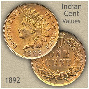 Uncirculated 1892 Indian Head Penny
