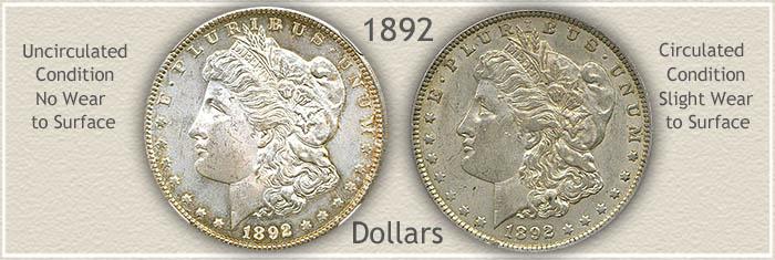 Grading 1892 Morgan Silver Dollar