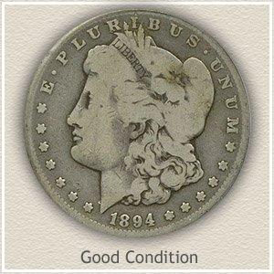 1894 Morgan Silver Dollar Good Condition