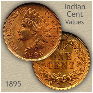 Uncirculated 1895 Indian Head Penny