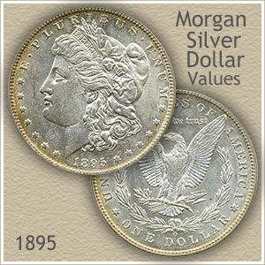 1895 Morgan Silver Dollar Value