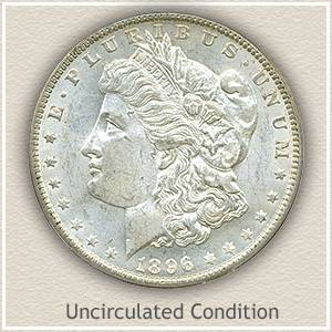 The one pictured is the one sold. Good condition 1896 Barber Half Dollar silver coin for the established collector