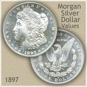 Uncirculated 1897 Morgan Silver Dollar Value